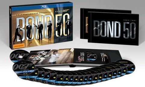 The Bond 50 box set